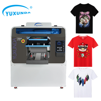 Sunthinks A3 A4 DTG Printer Direct To Garment Direct To Garment Flatbed DTG Printer T-shirt Printing Machine