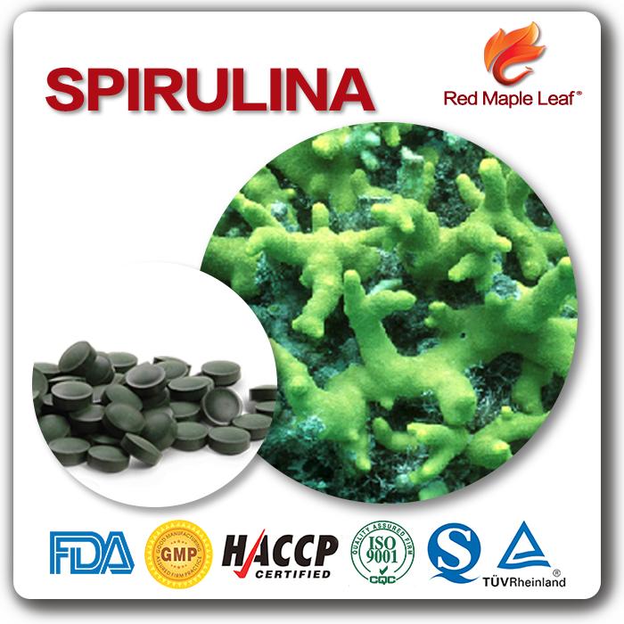 Фабрика питания здоровая пищевая добавка 250 мг Спирулина таблетки