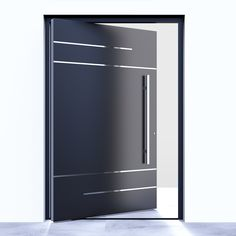 Seeyesdoor aluminium modern entrance door America Italy metal pivot door