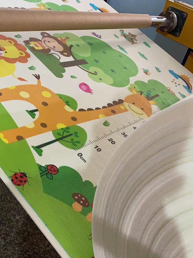 Водонепроницаемые напольные коврики из пены XPE, Детские нетоксичные экологически чистые складные игровые коврики-пазлы