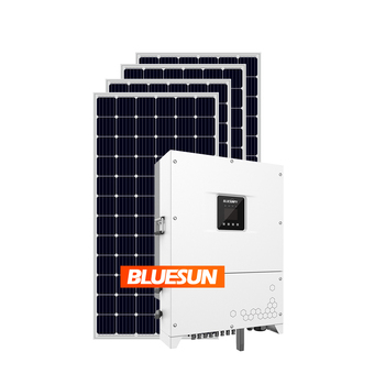 Bluesun 100kw solar panel system home 100kw on grid solar system 100kw 500kw home solar system