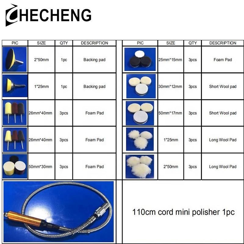 CHE-C5850 Polisher Mini M14 Mini Polisher System Nano Mini Polisher Electric