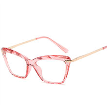 KUJUNY, модные квадратные очки, оправа, Ретро стиль, для девушек, сексуальные, кошачий глаз, Роскошные бренды, прозрачные линзы, ОВСЕ, очки, оправ...(Китай)