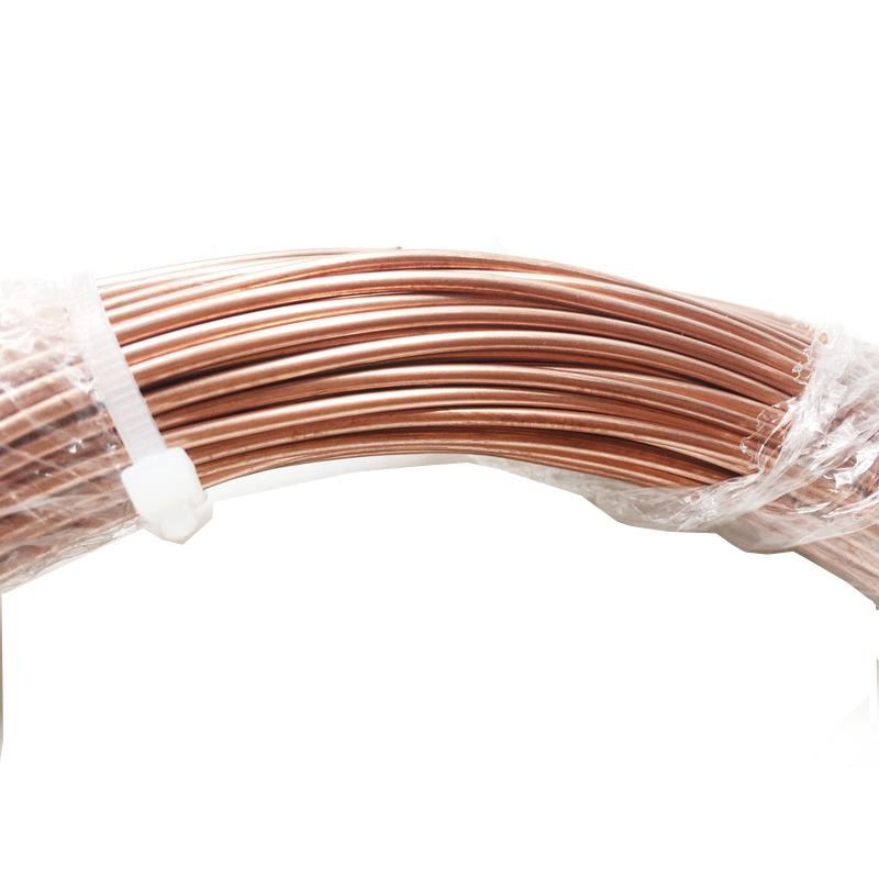 HAVC медная трубка плоская Катушка медная труба для кондиционера воздуха медная трубка кондиционера