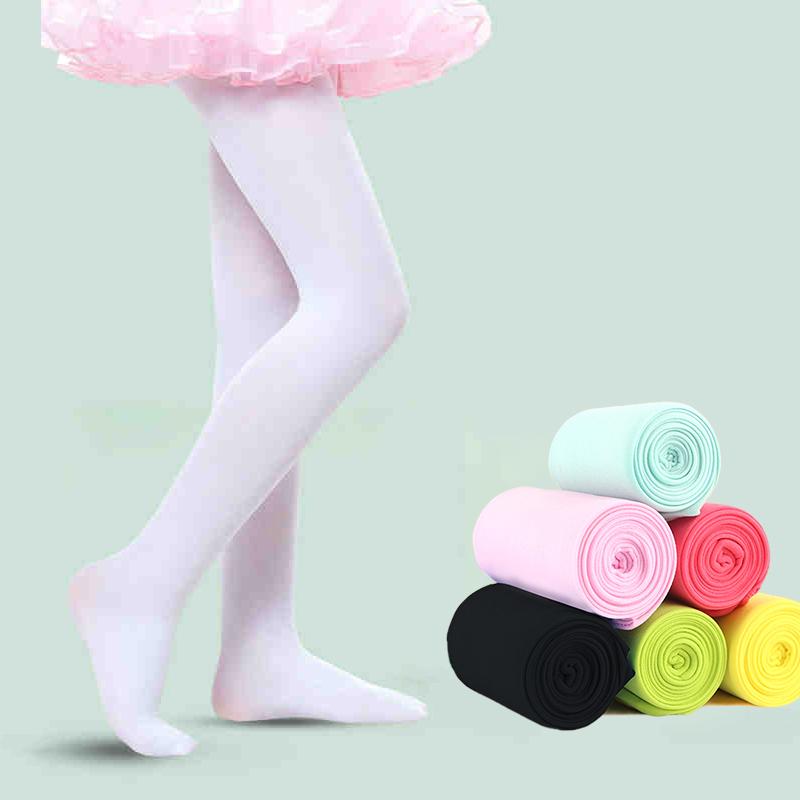 Дешевые балетные колготки карамельных цветов, танцевальные колготки, плотные колготки для детей, девочек