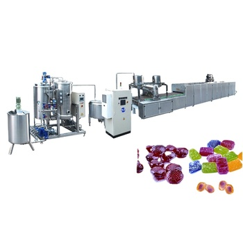 Soft candy pulling machine strechless jelly candy making machine jelly candy production line