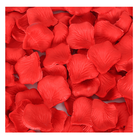 Flower Silk Red Rose Petals Wedding Flower Decoration Red Silk Rose Petals For Romantic Night Valentine Day Rose Petal
