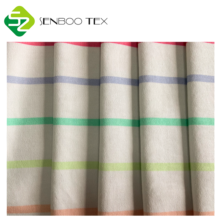 Осотп Сертифицированные 100% органический хлопок 32S 230gsm ткани печать для ребенка ползунки