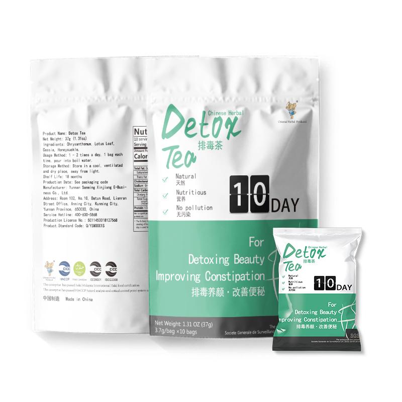 Hot sale Detoxifying health Nourish skin Bag packaging Fat burning detox tea - 4uTea | 4uTea.com