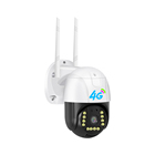 4G Sim Network Card 2MP Infrared Night Vision Two Way Voice Smart Remote Monitor 1080p PTZ Wireless IP Camera