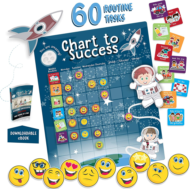 Custom Thick Magnetic Reward Chart Board Tasks magnetic reward behavior chart chore chart