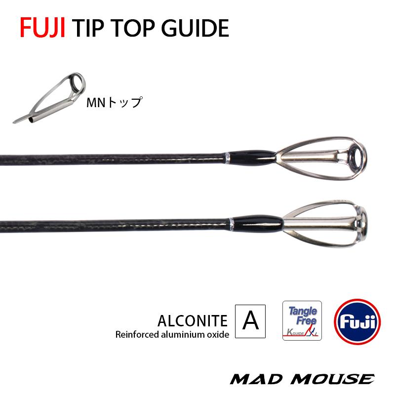 MADMOUSE Japan Full Fuji Parts Slow Jigging Rod 6