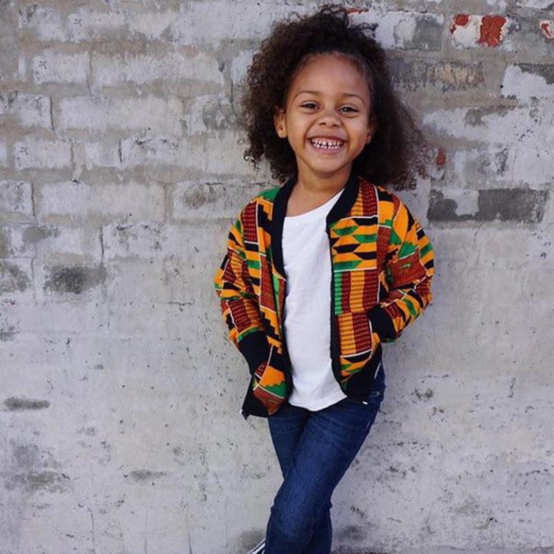 MXCHAN 2020 одежда с Африканским принтом детская куртка с Африканским принтом африканская детская одежда