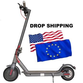 Dropshipping EU Stock Off Road Two Wheels Foldable Folding Motor Mopeds Electrical Electric Scooters for Adults