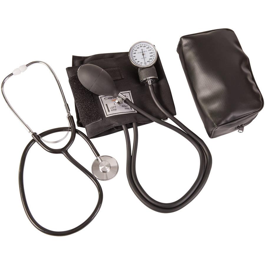 Медицинский ручной анероидный прибор для измерения артериального давления, Сфигмоманометр с стетоскопом