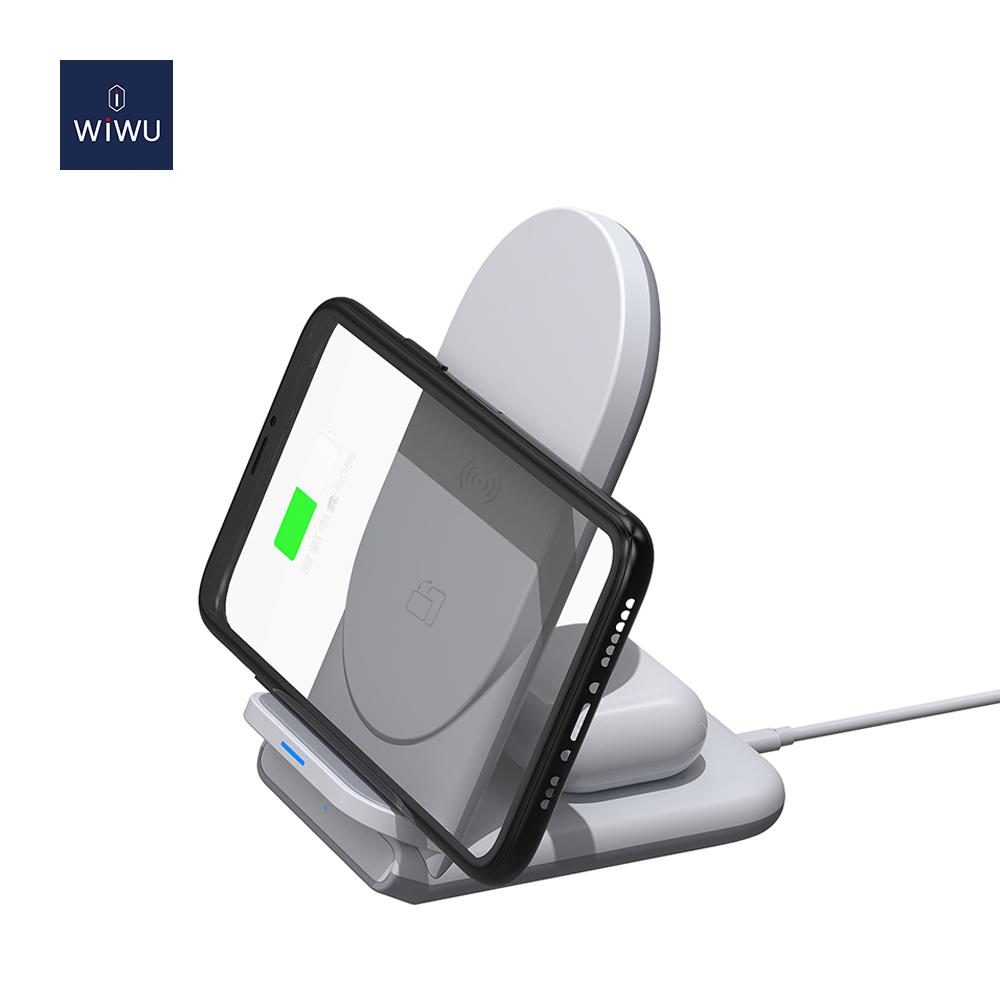 WiWU 二合一 无线充电器 (https://www.wiwu.net.cn/) 无线充电器 第1张