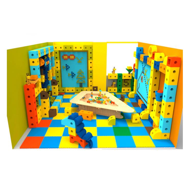 Лидер продаж, лучшие большие детские блоки из вспененного этилвинилацетата, дошкольное здание, строительные игрушки для детей, Оборудование Для крытой игровой площадки