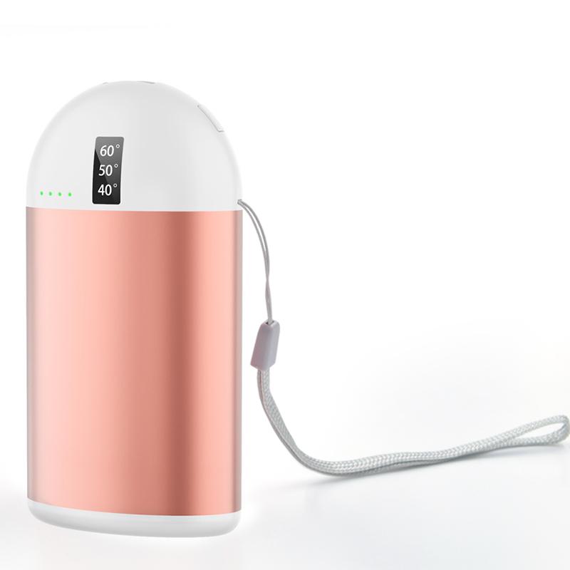 Дисплей температуры 10000 мАч массажный грелка для рук портативное зарядное устройство USB грелка для рук портативное зарядное устройство