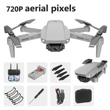 Радиоуправляемый Дрон E88 с HD-камерой, мини-карманный Дрон, Селфи, Wi-Fi, FPV, Квадрокоптер, игрушка для детей, Дрон, самолет VS E58 E68 E98, 2020(China)