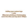add 1c color logo