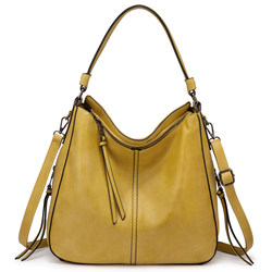 Lovevook Realer high quality PU leather hobo bags women shoulder crossbody bag  large capacity totes bags for women
