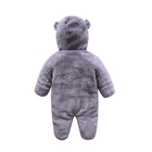 Toddlers' Baby Soft Toddlers' Hooded Pajamas Kigurumi Unisex Baby Cosplay Animal Costume Rompers