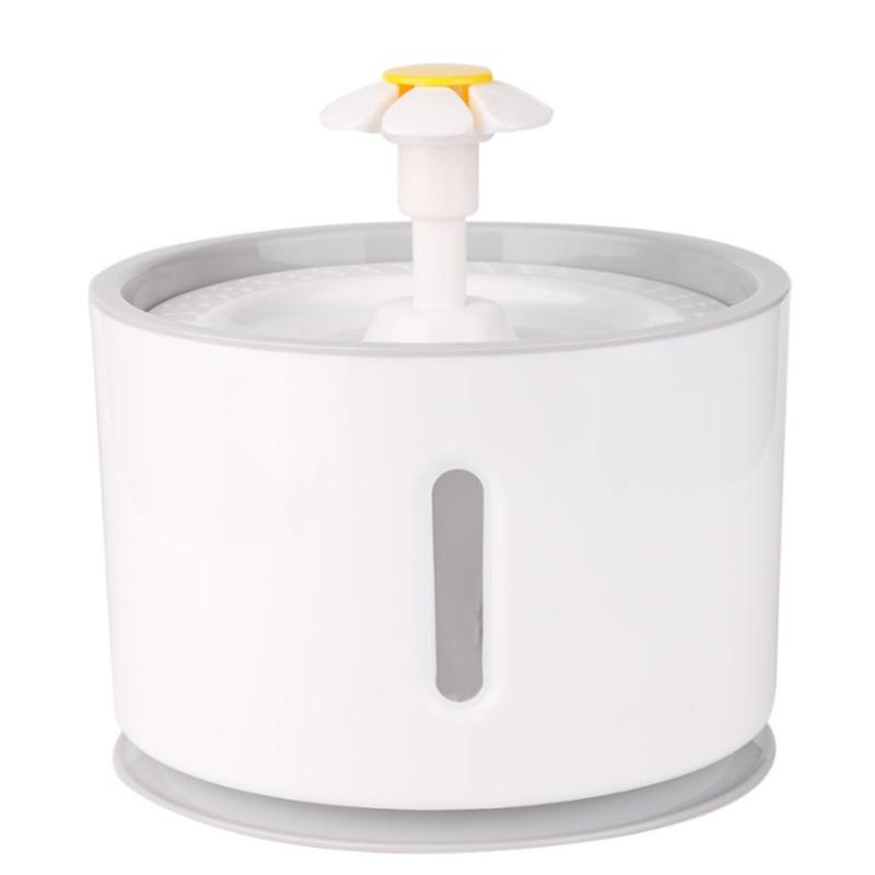 Автоматический кошачий фонтан дозатор питьевой воды для домашних животных Электрический светодиодный фонтан для питья кошек питатель для ...(Китай)
