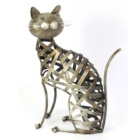 Hot Sell Interesting Cat And Dog Shape Metal Home Decor