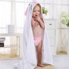 Hooded Towel High Hope Hot Sale Factory Direct Bamboo Hooded White Colorful Baby Bath Towel With Animal Pattern