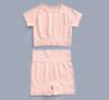 pink top+shorts