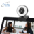 2020 New 1080p Webcam with Ring Light Microphone  Adjustable Brightness PC Camera for Skype