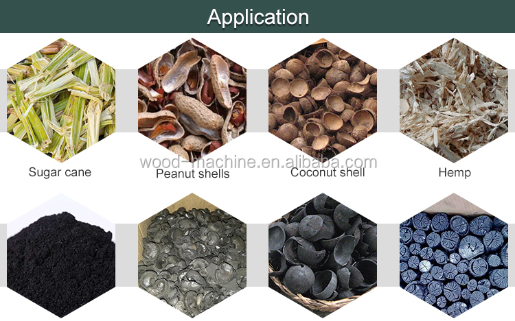 activated carbon rotary kiln furnace horizontal charcoal carbonization furnace