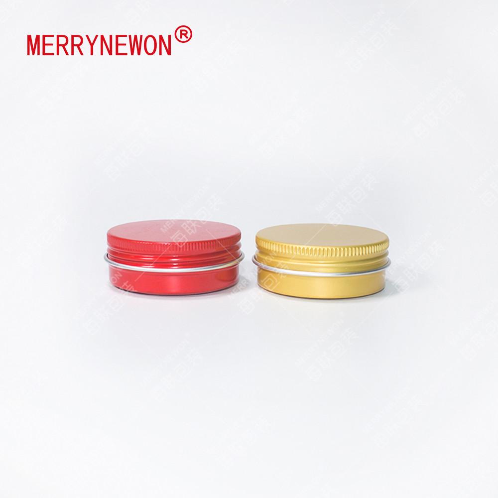 30g/ml empty shoe aluminum metal packaging gold round tea tin goldtea metal square tin nails polish