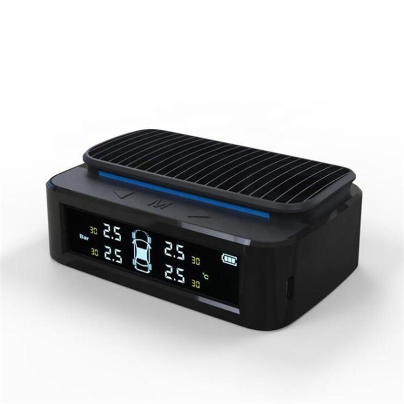 2021 Новая солнечная система контроля давления в шинах автомобиля внутренний датчик безопасности автомобиля световой сигнализации устройства с атмосферная лампа