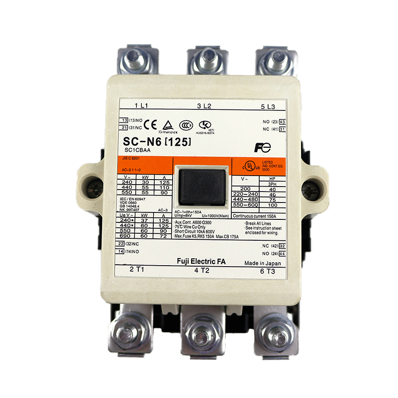 SC-N6 Japan Fuji electromagnetic contactor terminal connection type AC contactor brand new original SC-N6