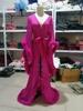 Fuchsia Long robe