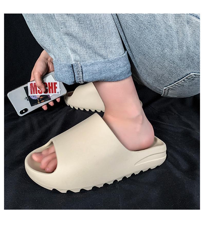 Оригинальные фирменные детские сандалии-шлепанцы с логотипом Yeezy; Тапочки Yezzy Yeezy; Мужские шлепанцы на заказ Yezzy Yeezy