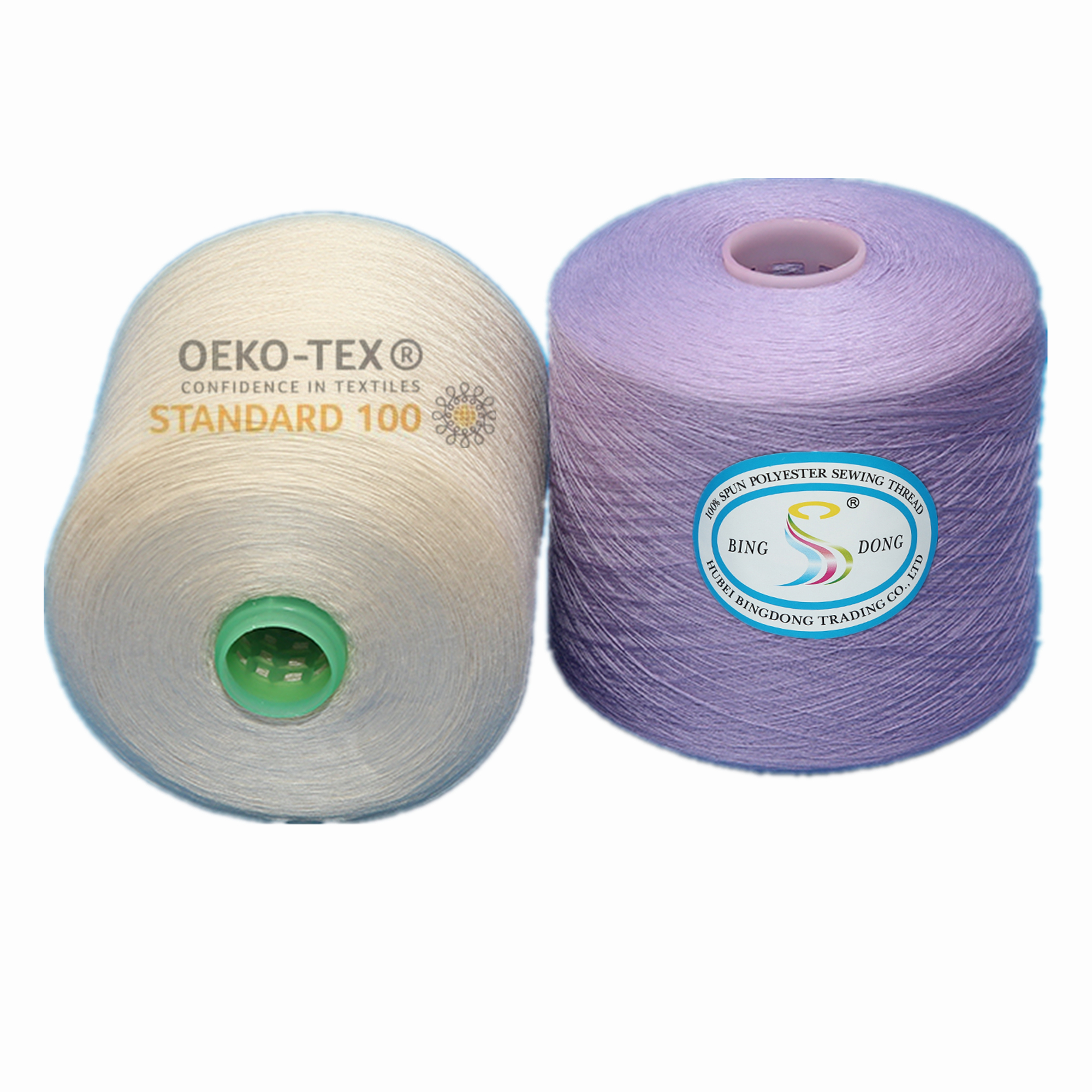 30/3 40/3 50/3 60/3 Recycled polyester spun yarn close virgin yarn eco friendly yarn 20S/3
