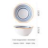 (6) Japanese Octagonal Bowl