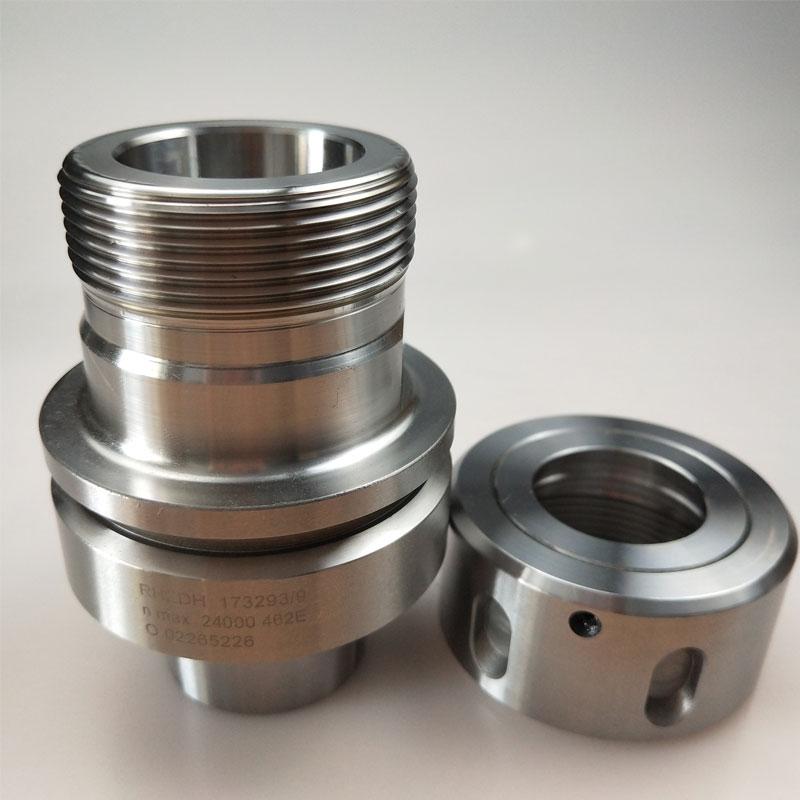 high speed HSK tool holder G2.5 3000rpm HSK 63F- EOC25 CNC Tool holder HSK collet chuck with bearing nut