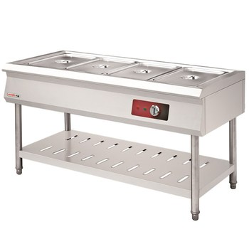 Restaurant & Hotel Buffet Serving Equipment Stainless Steel Steam Hot Food Display Warmer Bain Marie Tray Table in DUBAI Factory