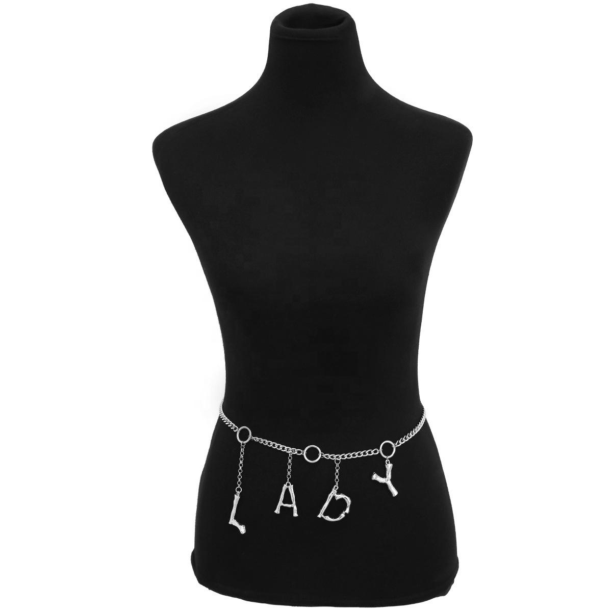 Модный персонализированный пояс со стразами и надписью для женщин