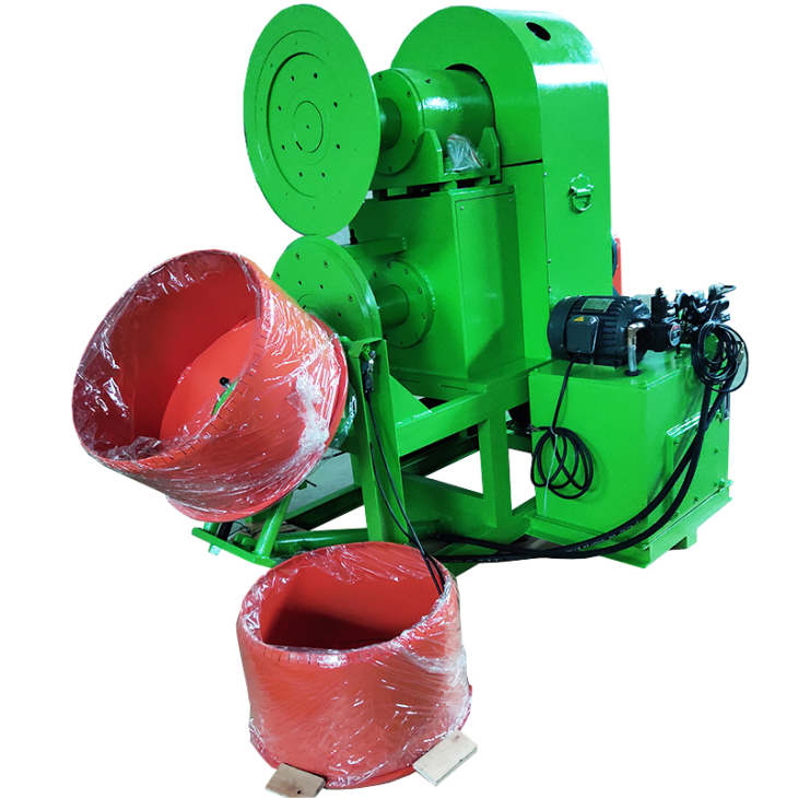 The manufacturer specializes in the design of tire crusher bar cutting machine