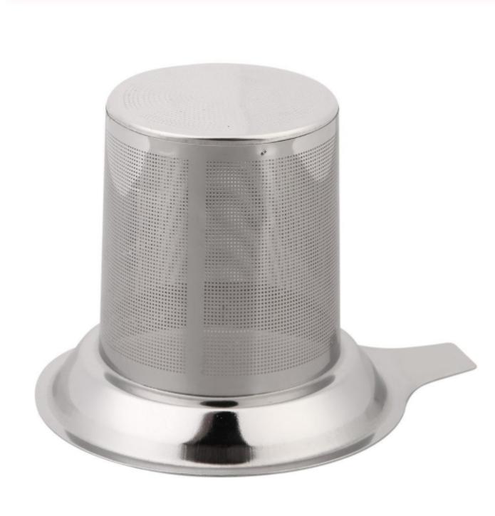 Reusable Stainless Steel Tea Infuser Basket Fine Mesh Tea Strainer For Teapot