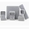 Earring box: 7*7*4cm grey