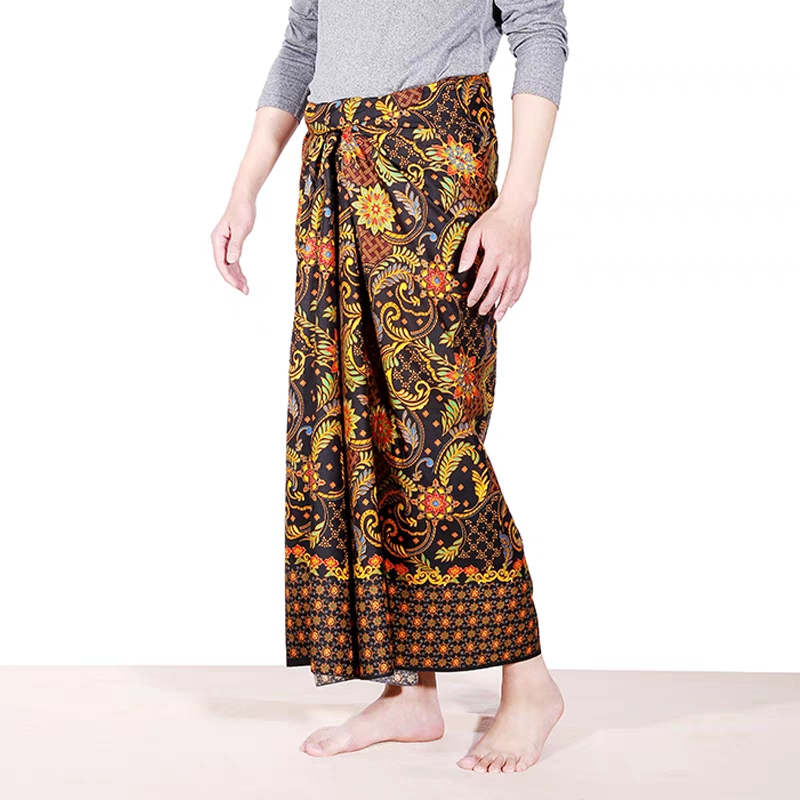 Wholesale Wide Color Selections with Hand Painting Ornaments polyester Pareo Beach Sarong