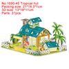 1690-45 Tropical hut