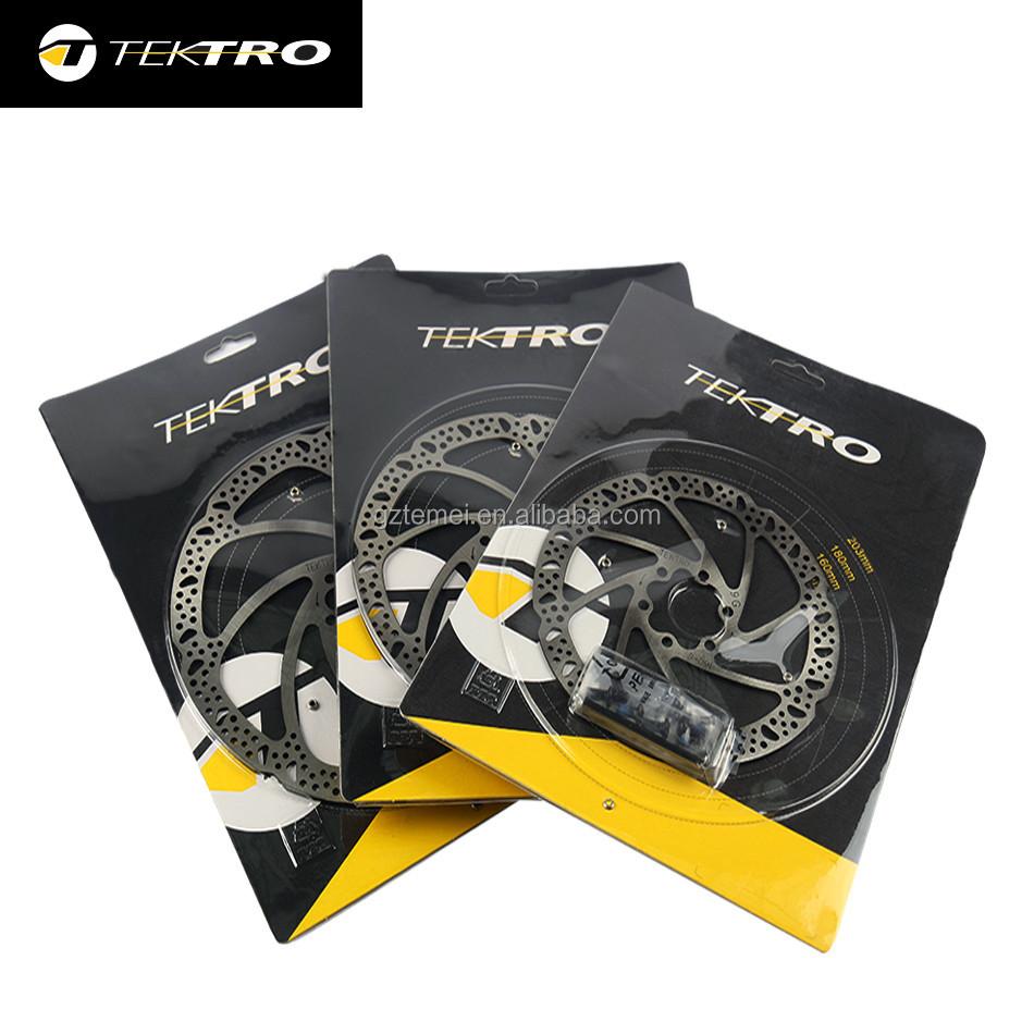 TEKTRO Bike Rotor 160//180//203mm Mountain Bicycle Hydraulic Disc Brake Rotors