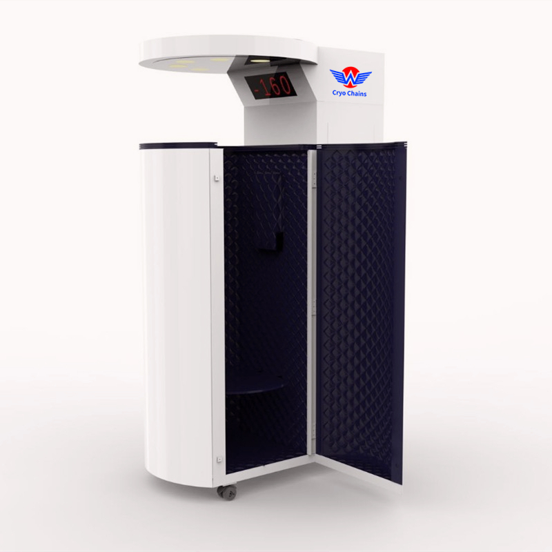 Medical Cryogenic Equipments Suppliers Cryogenic Artic Sauna Chamber For Recovery From Sports Injury