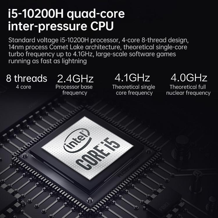 Lenovo Легион Y7000 2020 ноутбук 15,6 дюймов 16 ГБ + 512 ГБ победы 10 Intel Core i5-10200H ядра с тактовой частотой до 4,1 ГГц портативных компьютеров